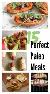 15 Perfect Paleo Meals