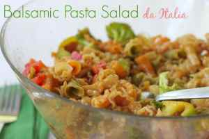 Balsamic Pasta Salad da Italia #ForTheCup