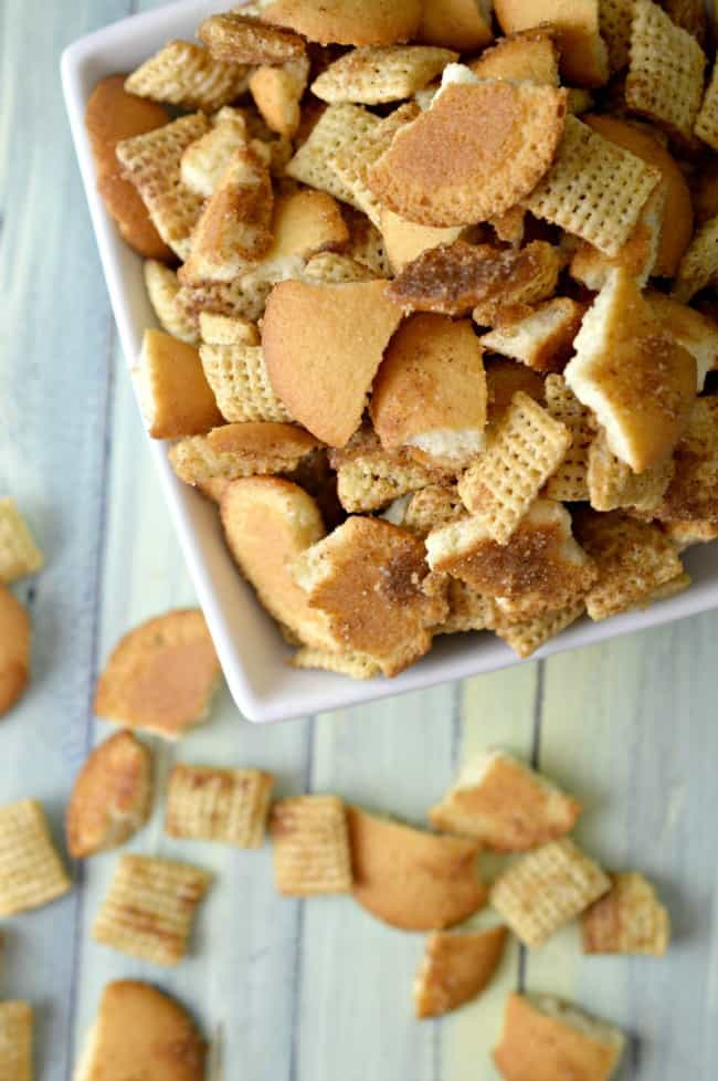 Easy Snickerdoodle Snack Mix Recipe