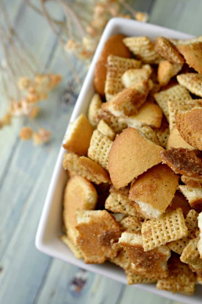 Snickerdoodle Snack Mix Recipe