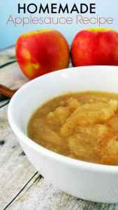 Homemade Cinnamon Applesauce Recipe – From Scratch