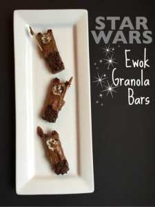 Star Wars Ewok Granola Bars Tutorial