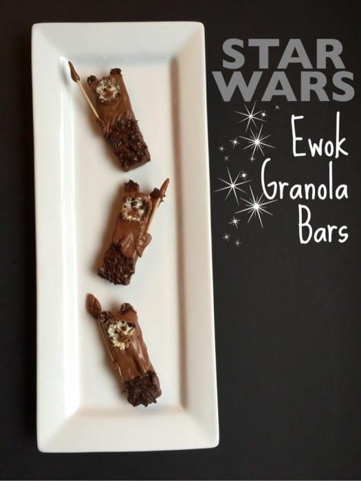 Star Wars Ewok Granola Bars Recipe