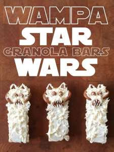 DIY – Wampa Star Wars Granola Bars