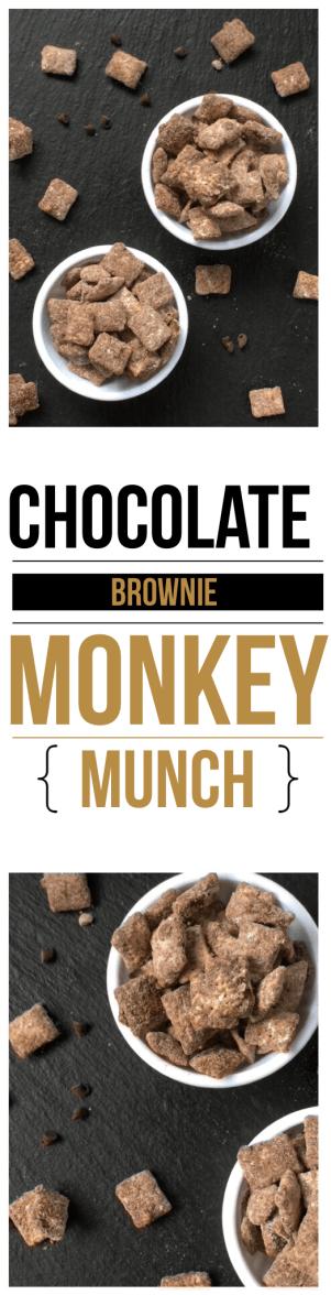 Chocolate Brownie Monkey Munch Recipe