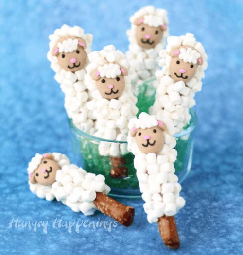 Lamb Pretzel Sticks