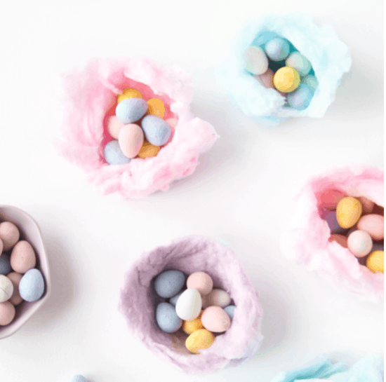 Cotton Candy Nests