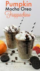 Pumpkin Mocha Oreo Frappachino