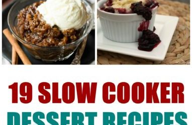Slow Cooker Dessert Recipes