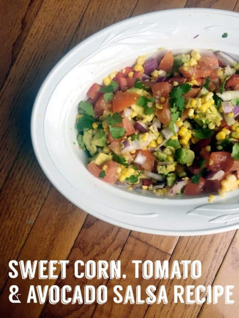 Sweet Corn, Tomato & Avocado Salsa Recipe