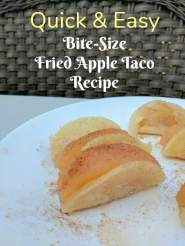 Fried Apple Taco Recipe