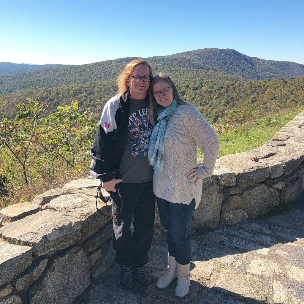 MamaDweeb at Skyline Drive