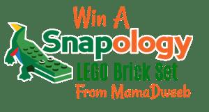 New Giveaway! Win a LEGO® brick set of the Snapology Mascot Sebastian Gator