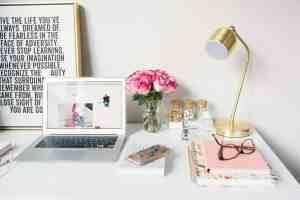 Small Business Goals Computer Desk