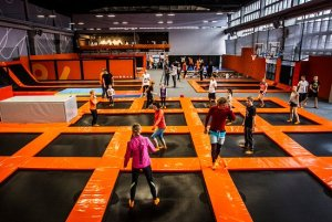 Bouncing Into Birthday Party Fun At A Trampoline Park