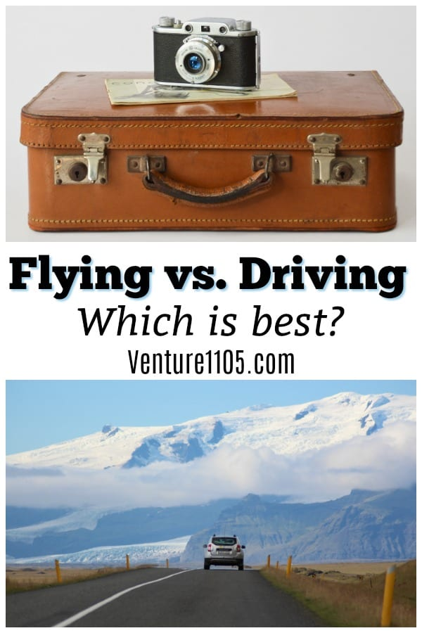 Flying or driving - which is best