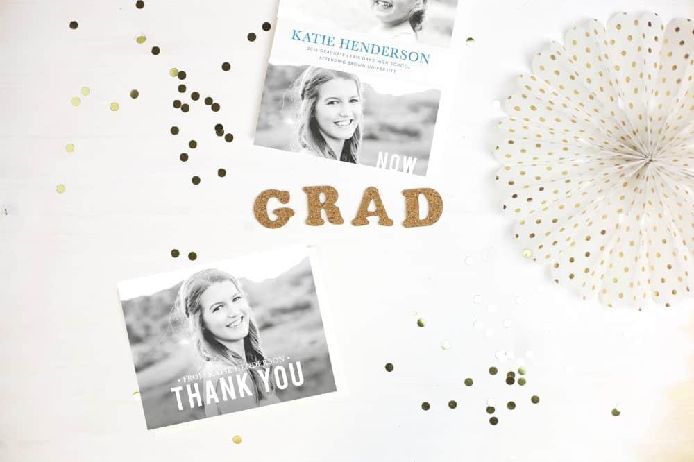 Basic Invite Graduation Announcements