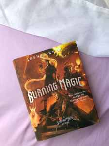Burning Magic: Author Joshua Khan Shares His Favorite Character From The Book