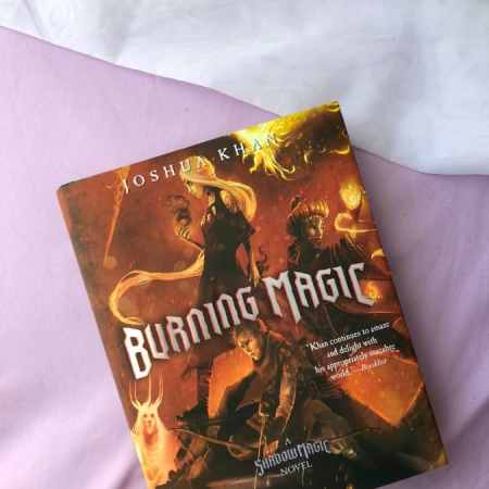 Burning Magic By Joshua Khan