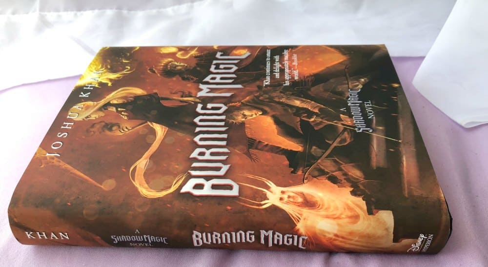 Burning Magic Book by Joshua Khan
