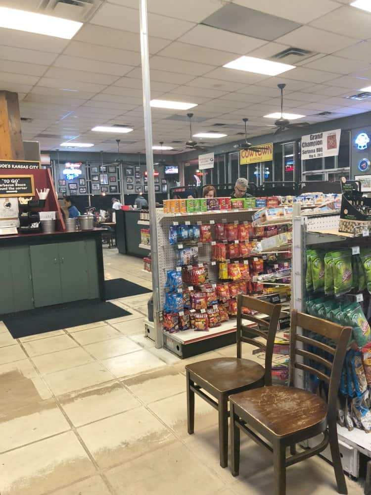 Joe's Kansas City BBQ Gas Station Side