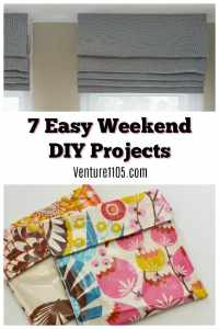 7 Easy DIY weekend projects