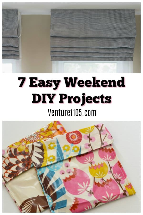 7 Easy Weekend DIY Projects