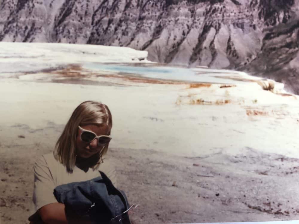 Hot Springs Yellowstone