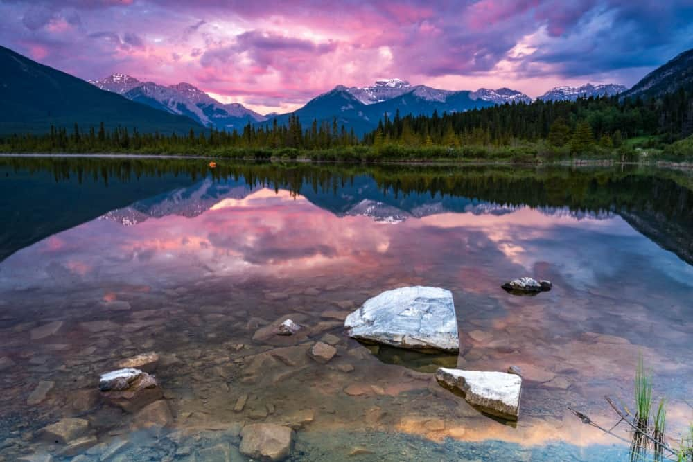 Canada Pink Sunset