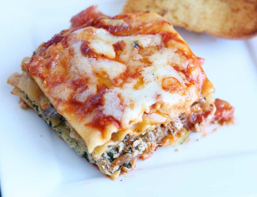 Grilled Vegetable Lasagna Recipe