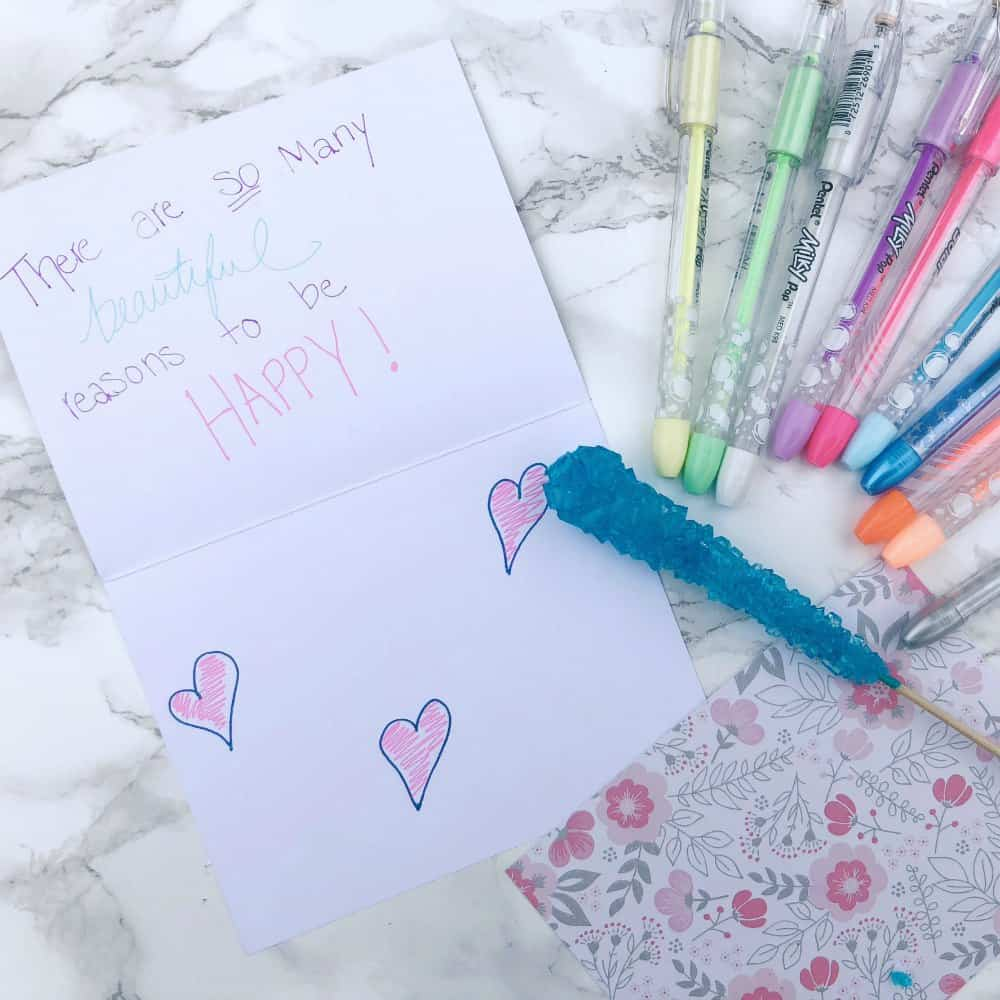 Pentel Pens POP DIY Thank You Cards
