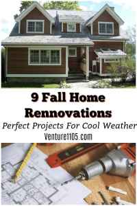 9 Fall Home Renovations You Need To Tackle