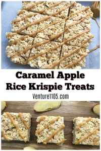 Caramel Apple Rice Krispie Treats Recipe