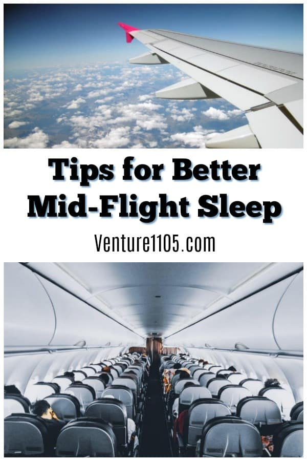 Tips For Better Mid-Flight Sleep