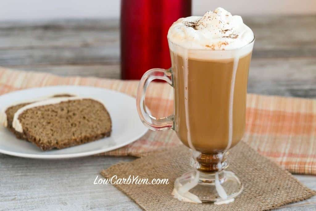 Low Carb Gingerbread Spiced Coffee