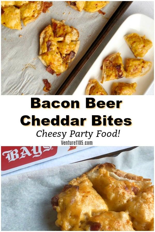 Bacon Beer Cheddar Bites