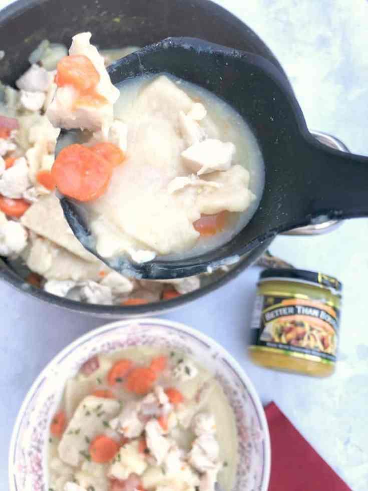 Slippery Pot Pie - Pennsylvania Dutch Chicken Pot Pie Recipe