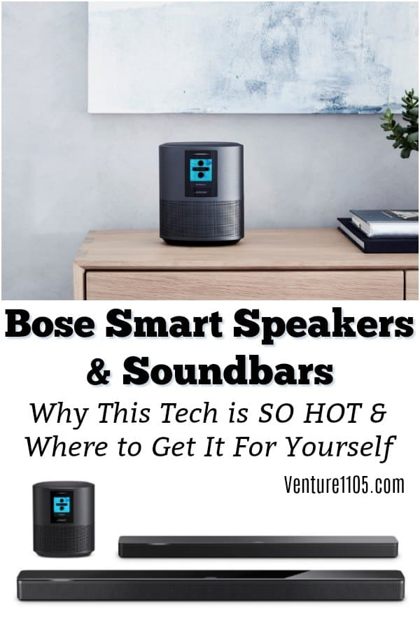 Bose Sound bar and smart speakers