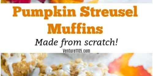 Pumpkin Streusel Muffins Made From Scratch