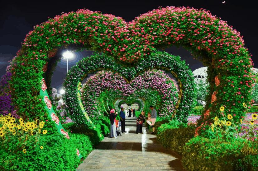 Honeymoon Dubai Park