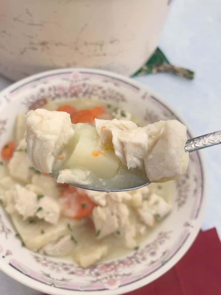 Slippery Pot Pie Recipe