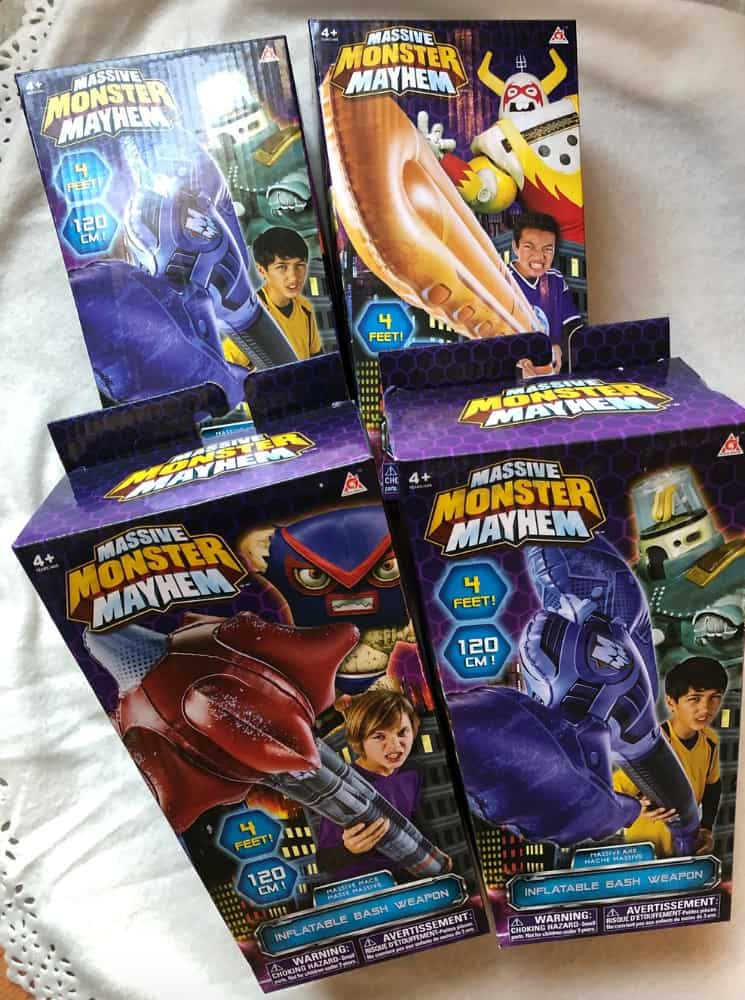 Monster Mayhem Toys