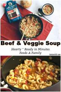Beef and Veggie Soup - Find the Recipe Here
