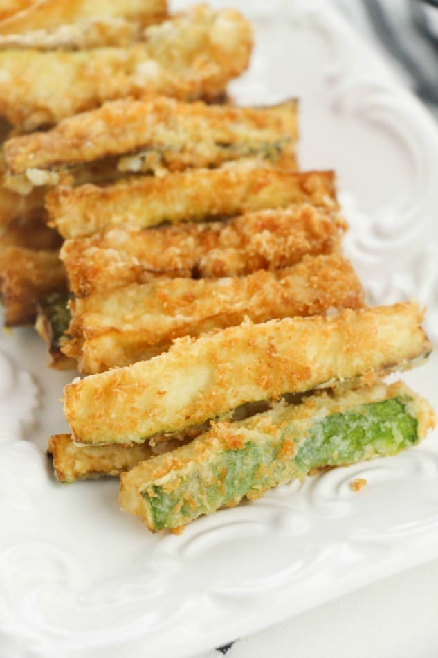 Zucchini Fries On A Plate