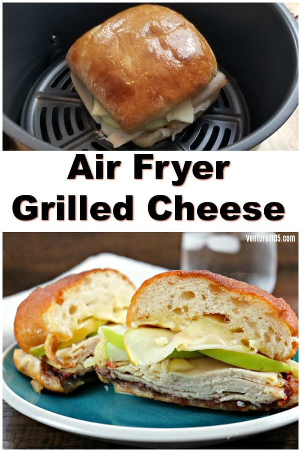 Airy Fryer Grilled Cheese
