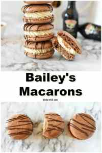 Bailey's Irish Cream Macarons