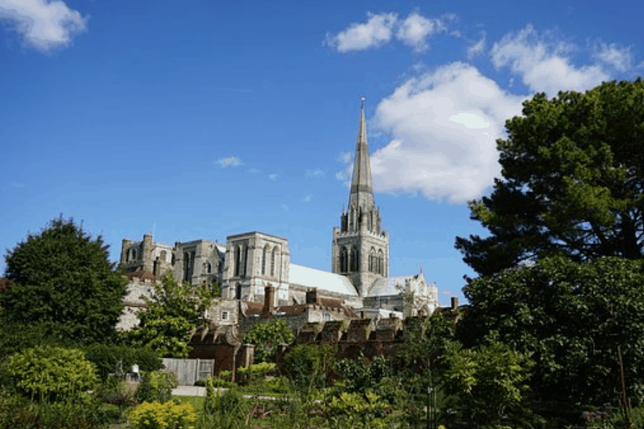 The Chichester Cathedral in Sussex