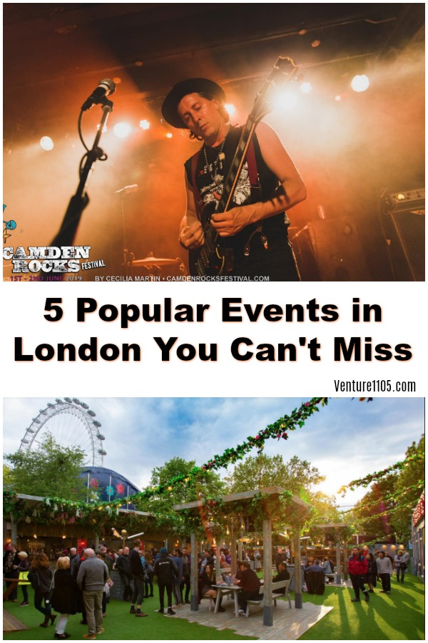 5 Events in London You Should Not Miss