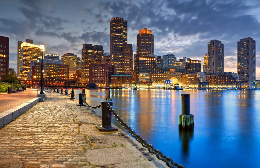 Boston MA Skyline