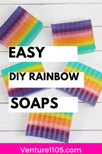 DIY Rainbow Soap Tutorial